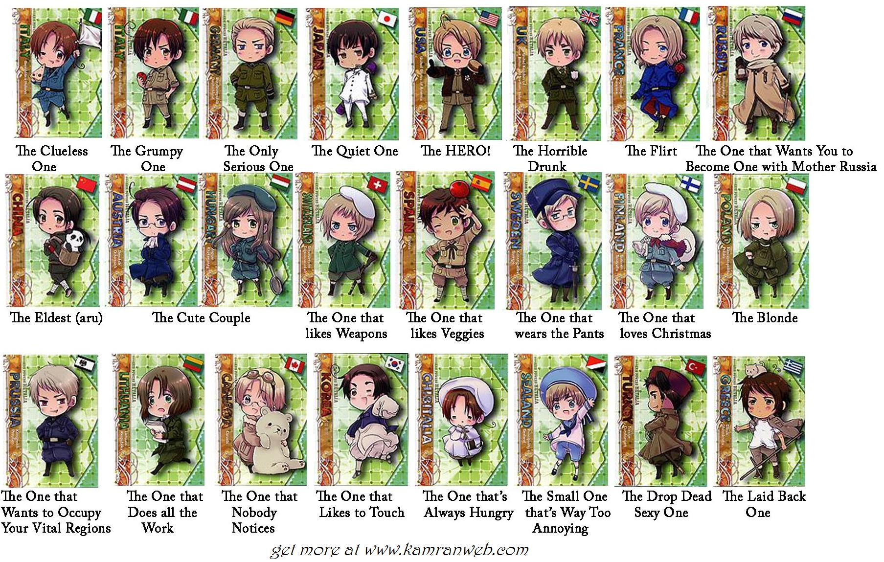... Hetalia Axis Powers Characters Facebook Tag Your Friends Picture/Photo